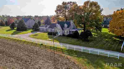 5626 W Dickison Cemetery Dunlap Three BR, Beloved farm with