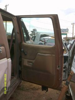 1987 Ford Lariat XLT Passenger Side Rear Door (PARTING OUT)