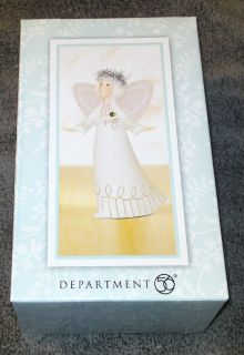 OTH22-33 - Whispers by Dept. 56 - May Figurine - NIB