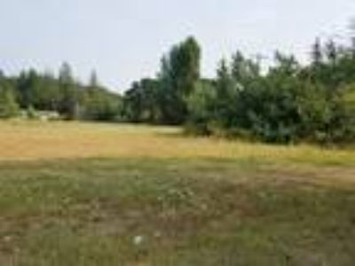 Nice sized .77 acre lot in small town setting.