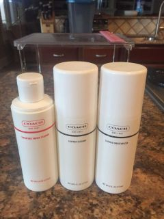 Coach Leather Cleaning Care Set
