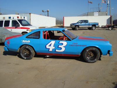 Richard Petty street stock kit car