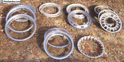 Wheel trim rings