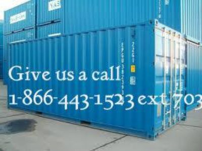 $1, Huge Inventory Sale on Shipping Containers