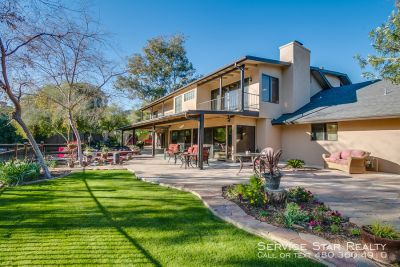 1 acre BEAUTY in PV 5 Bed 3 Bath- Pool, Spa, Koi Pond
