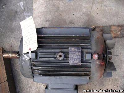 BALDOR M2394T MOTOR, 15 HP
