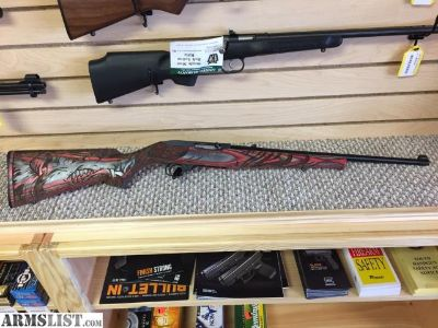 For Sale: Ruger Red Laminated Hog Wild 10-22