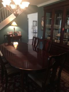 China Cabinet & Dining Table
