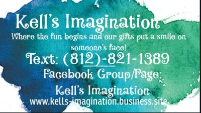 Kell's Imagination: signs, decals, clothing, much much more