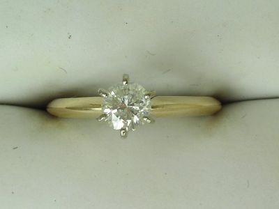 Beautiful 1/3 ct. diamond promise or engagement ring