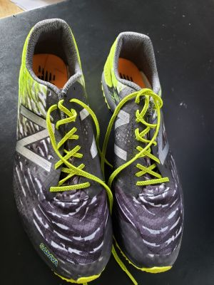 NB mens size 12 running spikes