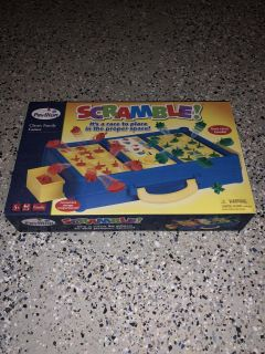 Scramble board game (ages 5+)