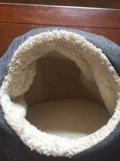 Pet Cave/Bed, Gray -Small