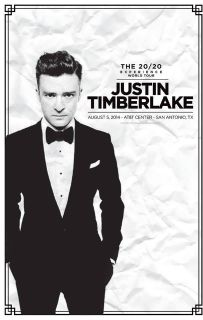 2 or 4 Justin Timberlake Lower Level Tickets - Aug. 5