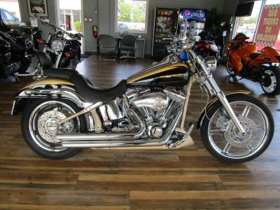 2003 Harley-Davidson FXSTDSEi Deuce CVO Cruiser Motorcycles Highland, IN