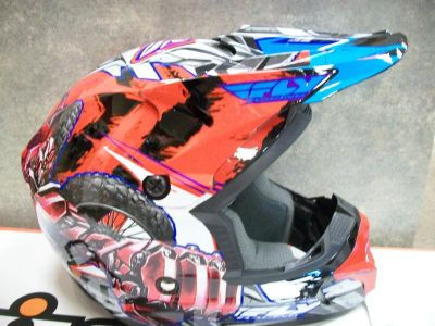 Purchase Fly Racing Kinetic Fly Bot Helmet Youth Medium New! motorcycle in Searcy, Arkansas, US, for US $99.95