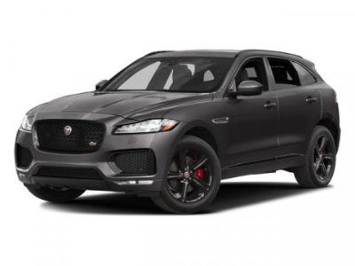 2017 Jaguar F-Pace S (Polaris White)
