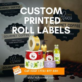 roll labels wholesale