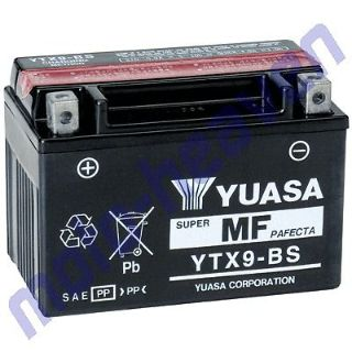 Purchase YUASA Hyosung TE450S Battery YUASA YTX9-BS TE450 TE 450 450S motorcycle in Sugar Grove, Pennsylvania, United States, for US $75.95