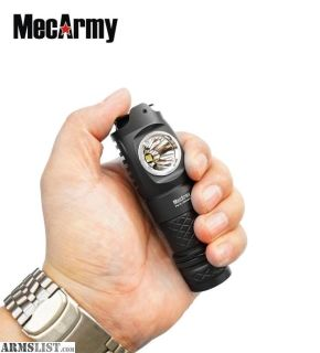 For Sale: MecArmy FM16 Dual Switch 1000 Lumen USB Rechargeable EDC Compact Flashlight