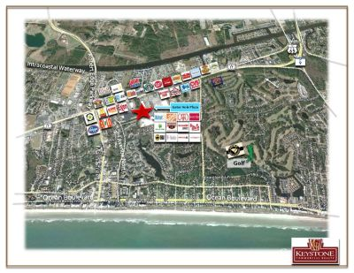 Plaza at the Gator Hole-6,000 SF-Unit 27, Retail/Office Space For Lease North Myrtle Beach, SC