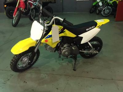 2018 Suzuki DR-Z70 Competition/Off Road Motorcycles Brilliant, OH