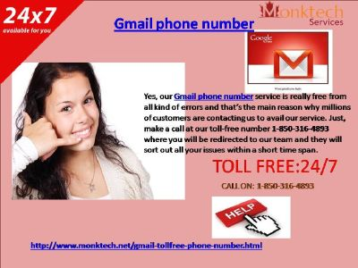Calling Gmail Phone Number 1-850-316-4893 could be beneficial or not?
