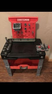 Craftsman Tool Bench and Tools