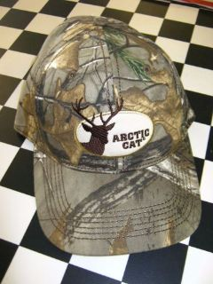Find Arctic Cat Deerhead Realtree Camo Cap Hat 5253-142 motorcycle in Grimes, Iowa, United States, for US $15.99