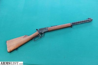 For Sale: 1967 Marlin Golden 39A Mountie 22lr Lever Action