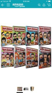 ISO Bobs Burgers DVDs