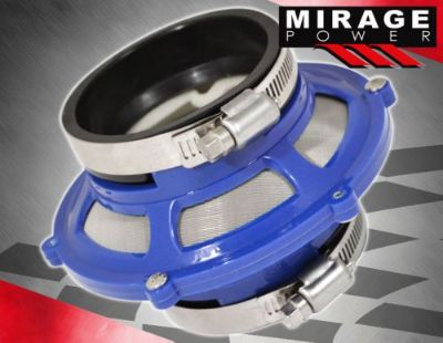 """Sell SCION 2.5"""" COLD AIR INTAKE ENGINE BYPASS VALVE FILTER + CLAMP BLUE MAX AIR FLOW motorcycle in La Puente, California, United States, for US $16.50"""