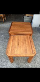 Solid Oak Chow Tables