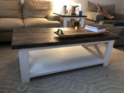 Coffee table and side table.