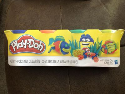 NIP PLAY-DOH 4 pack - Assorted Colors - 1 of 2 - NO ADDL DISCOUNTS