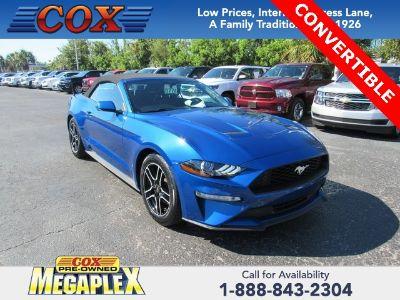 2018 Ford Mustang EcoBoost (Lightning Blue Metallic)