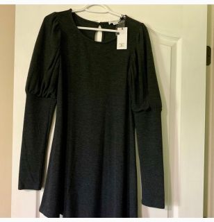NWT**Sweater Dress w Bell top Sleeves