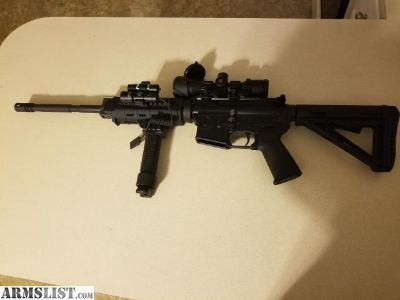 For Sale/Trade: S&W MP15OR LE .223/.556 WITH ACCESSORIES