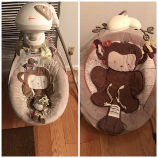 Fisher-Price Baby Swing Bouncer Set