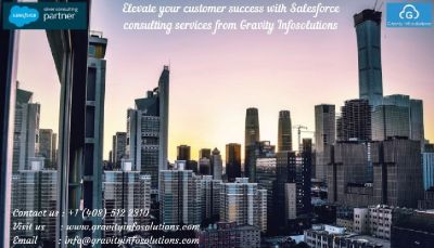 Elevate your customer success with Salesforce consulting services from Gravity Infosolutions
