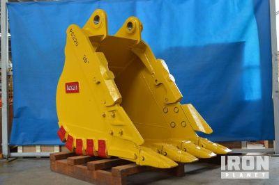 """Tacsa 30"""" HD Excavator Bucket - Fits Komatsu PC200/220LC-6 - Unused"""