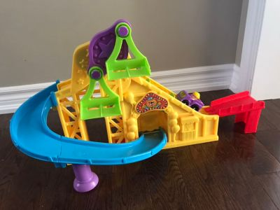 Fisher price roller coaster