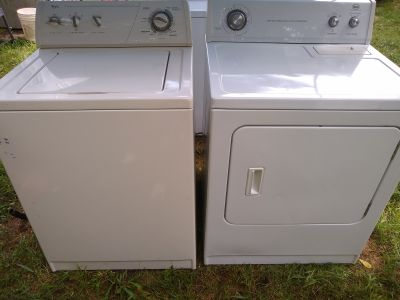 Whirlpool washer and Whirlpool roper dryer