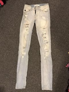 Wishing star boutique jeans size 23 worn once