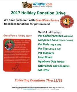 Donations for Pets in Need