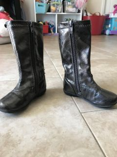Kenneth Cole brown boots toddler girl size 6