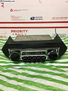 radio type3 with under dash frame