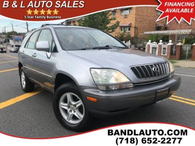 2001 Lexus RX 300 Base (Blue Vapor Metallic)