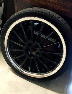 Nitto Tires with Coventry Rims