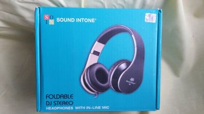Foldable dj stereo headphones